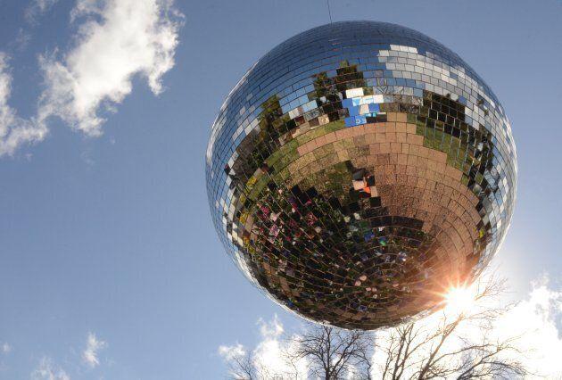 The disco effect at Floriade.