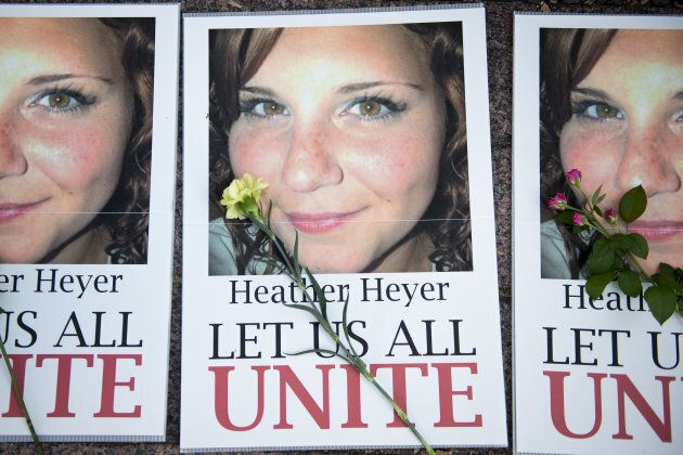 The Congressional resolution also calls Heather Heyer's death