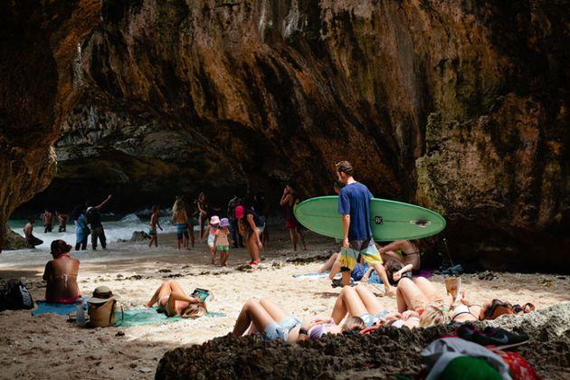 The Uluwatu Cave,