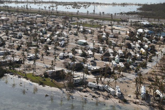 Irma caused about $25 billion in insured losses, including $18 billion in the United States and $7 billion...