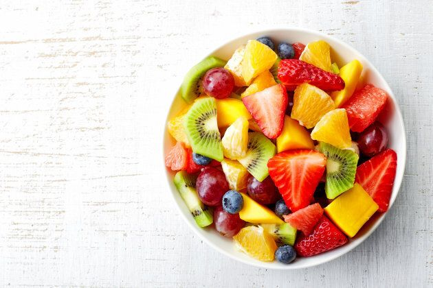 To get a variety of nutrients and flavours, eat different fruits throughout the week -- not just one kind.