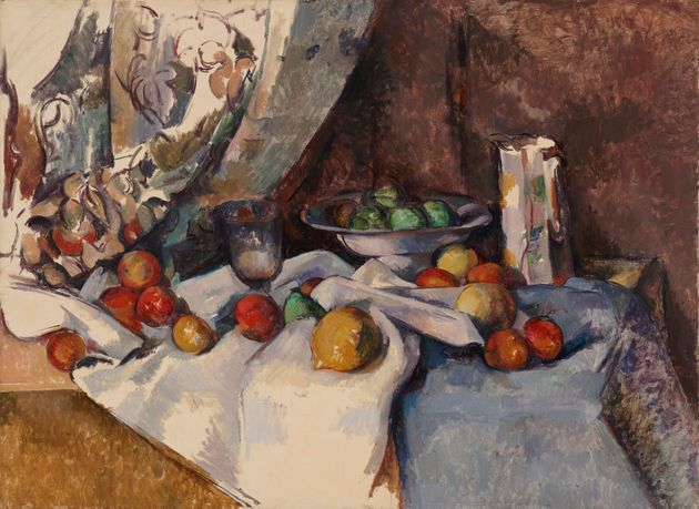 Paul Cézanne's 'Still Life with Apples',