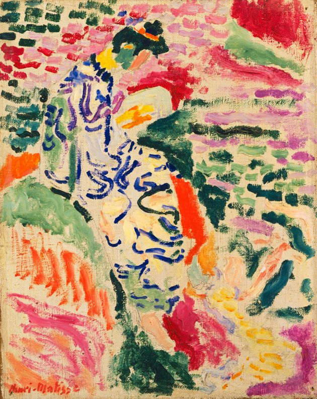 Henri Matisse's 'La Japonaise: Woman beside the Water',