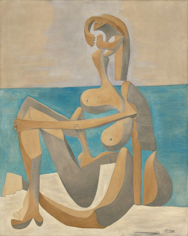 Pablo Picasso's 'Seated Bather', early