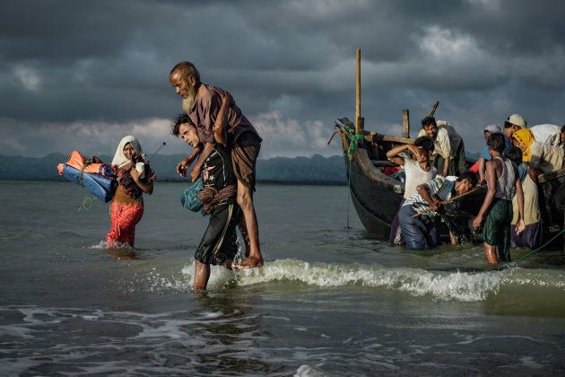 Many Rohingya Refugees have crossed into Bangladesh by