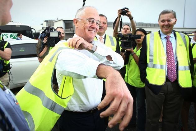 Malcolm Turnbull and Bill Shorten have both spent a lot of time in high-vis