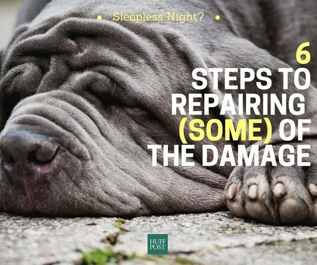 Sleepless Night? 6 Steps To Repair (Some) Of The