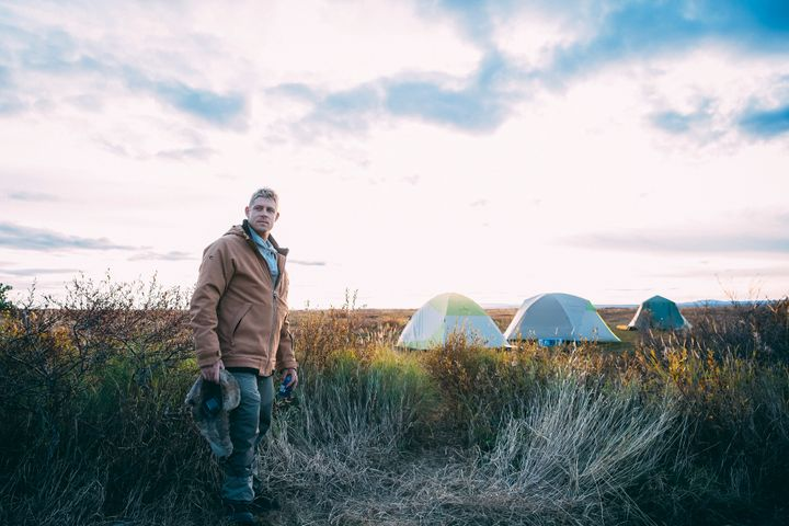 This is Mick's first expedition as Global Ambassador for 'Wild Ark'.