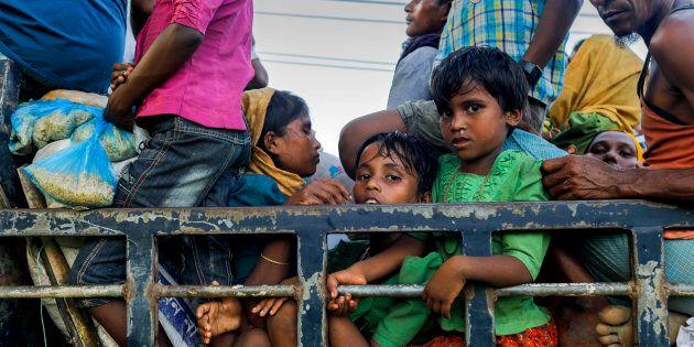 Around 40,000 Rohingya have entered Bangladesh in the last few days.