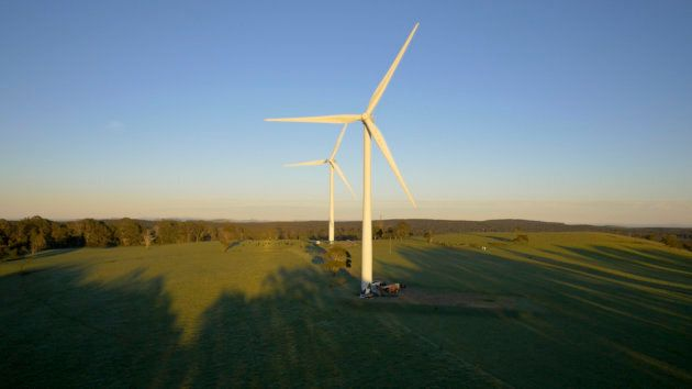 Communities, as well as businesses, are driving change. Hepburn wind farm was built by the local community...