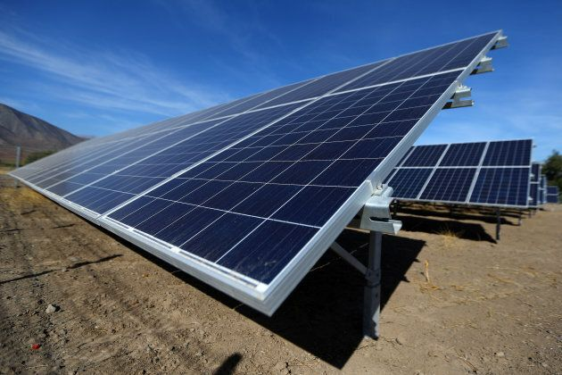 When the sun isn't shining, solar panels won't generate power, but advances in battery units are opening the way for large-scale solar operations.