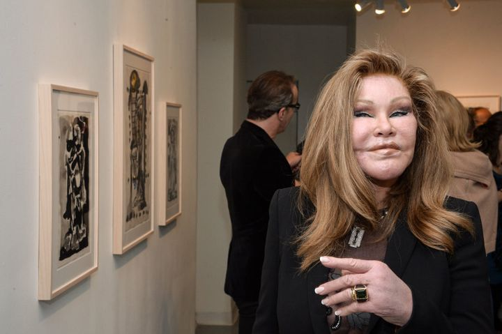 Jocelyn Wildenstein: a living example of going too far.