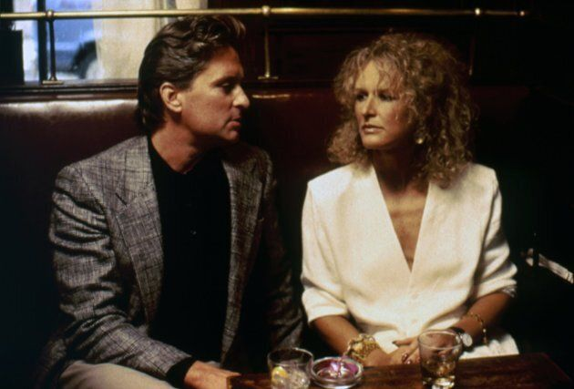 Michael Douglas and Glenn Close in 'Fatal Attraction'