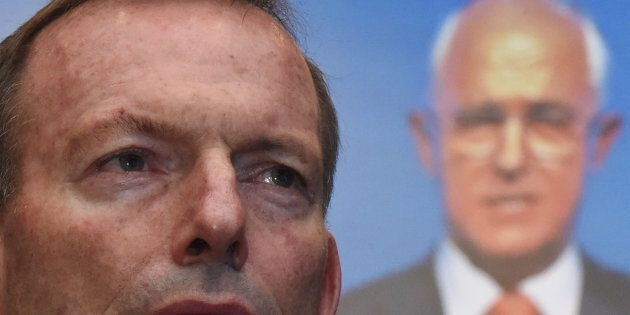 Tony Abbott and Malcolm Turnbull are feuding.