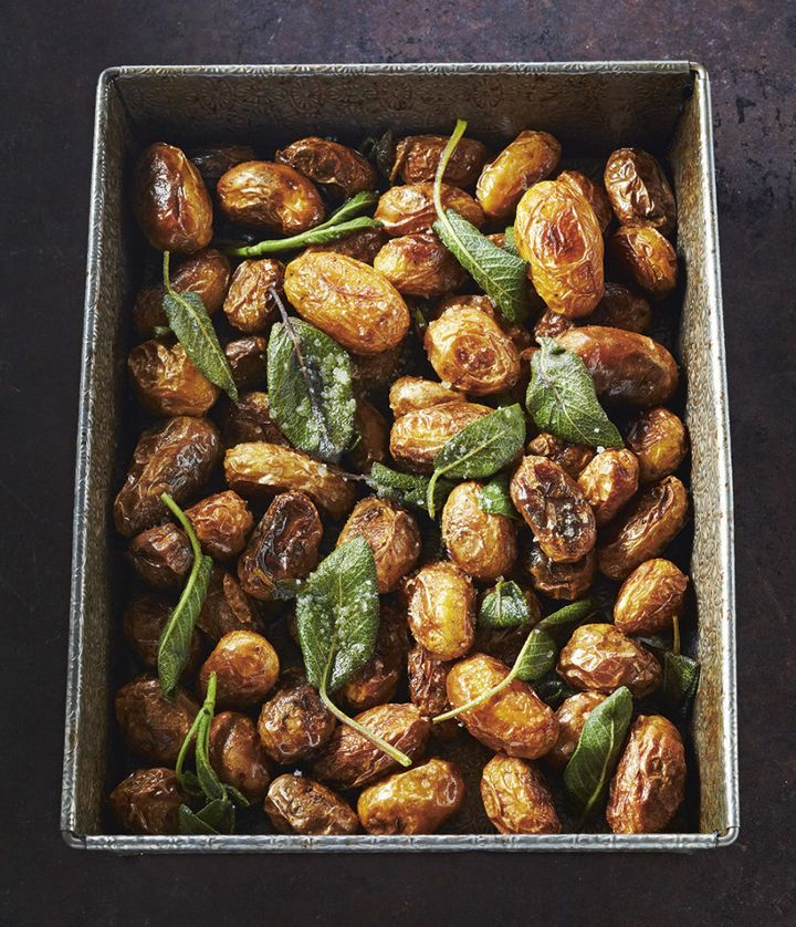 Use these crispy potatoes as a side to any of the above dishes.