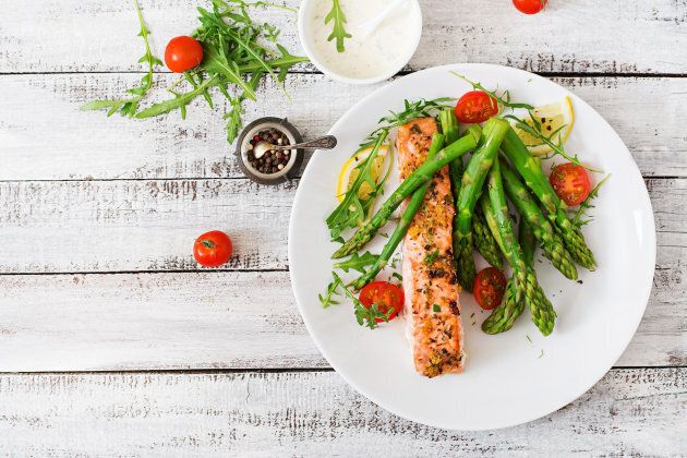 Fats and proteins take longer to digest than plant foods.