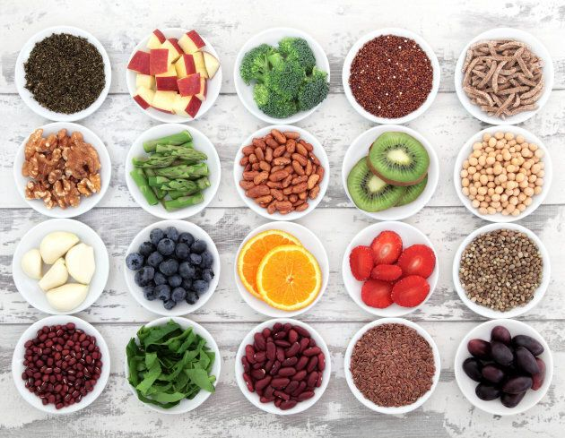 Aim for variety when it comes to food, so you get a range of vitamins and minerals.