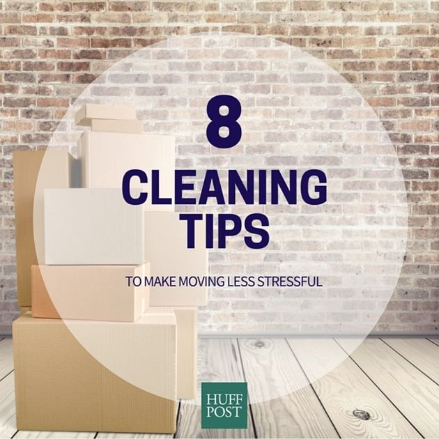 Cleaning Tips To Make Moving Less