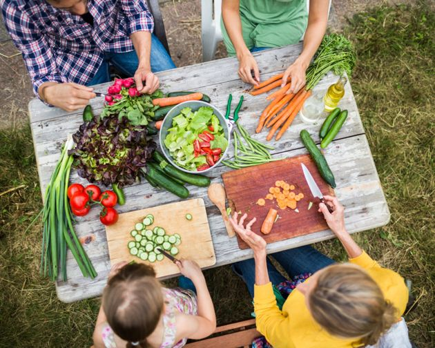 Get the kids involved to encourage them to eat more