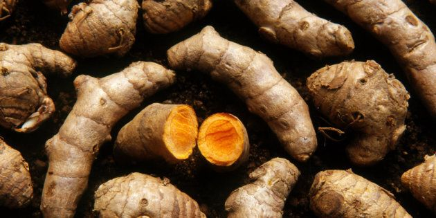 Turmeric in root form