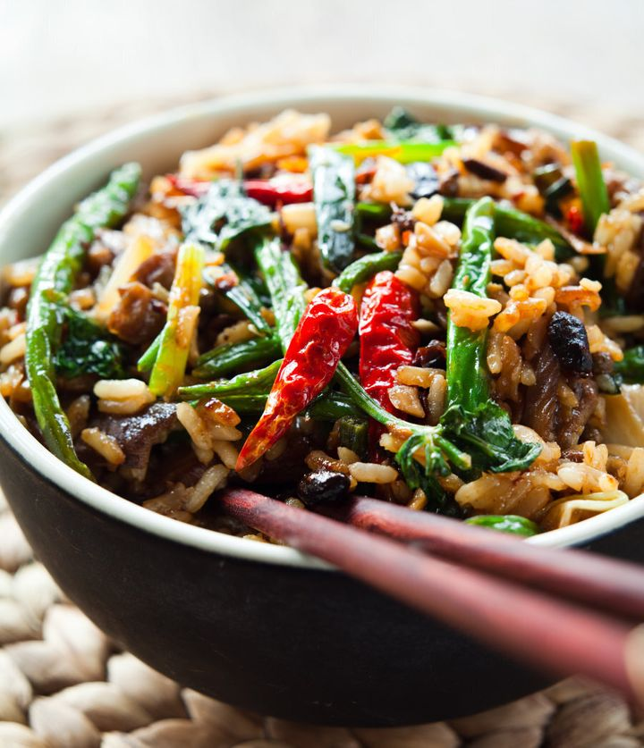 A stir fry is an easy, delicious way to eat a tonne of veggies.