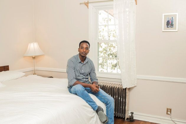 Abdi Iftin fled Somalia to start a new life in the