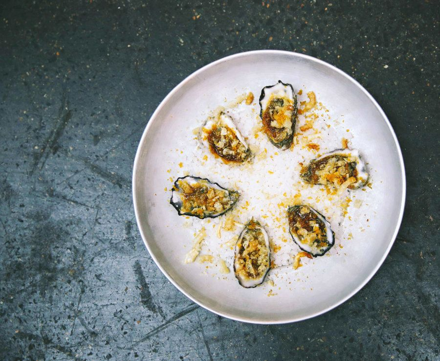 This take on the much-loved Oysters Kilpatrick is equally as