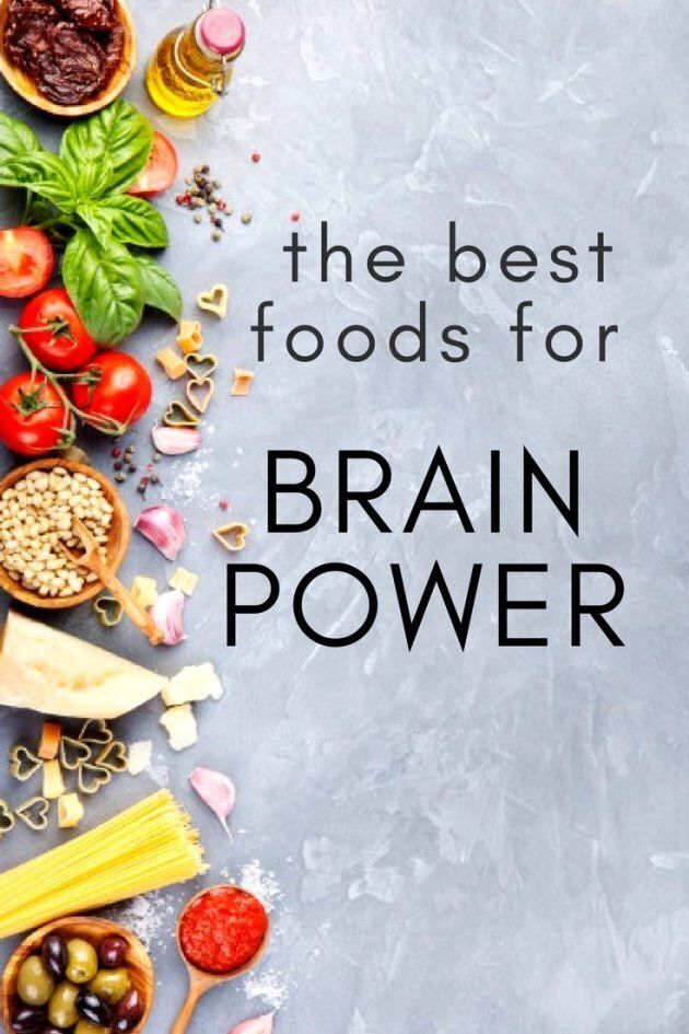 The Best Foods For Brain
