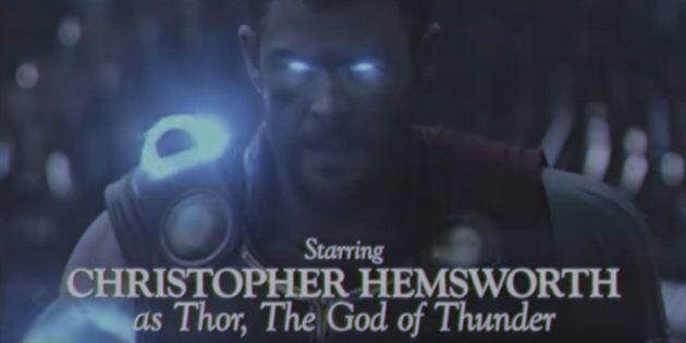 The 'Thor: Ragnarok' Trailer Got An Epic '80s