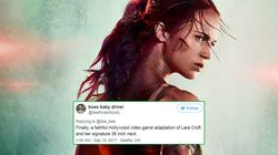 What The Hell Is Going On With Lara Croft's Neck In This 'Tomb Raider'