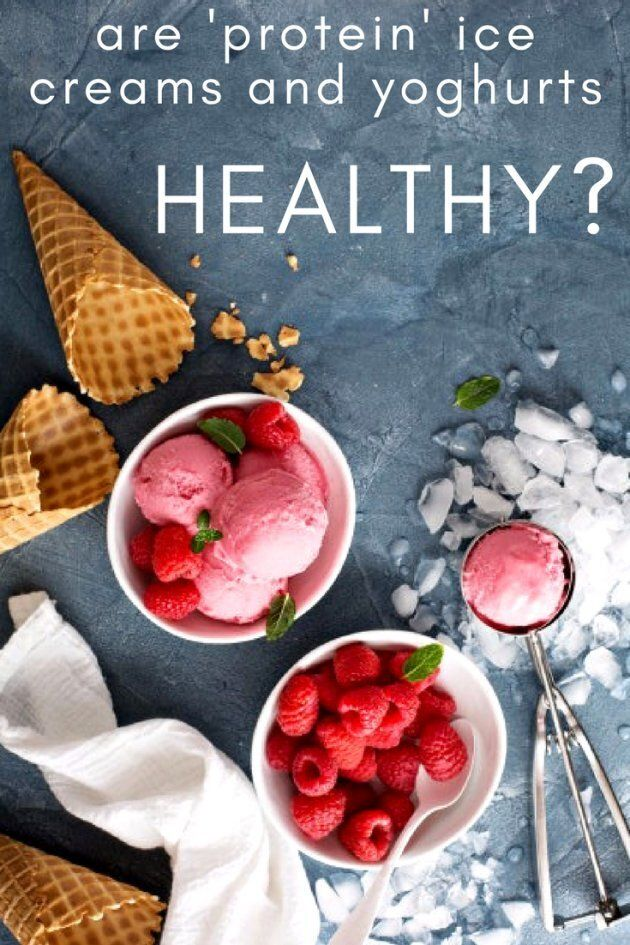 Are 'Protein' Ice Creams And Yoghurts