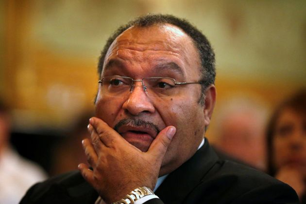 Papua New Guinea Prime Minister Peter O'Neill, pictured here in Sydney in 2012, says a small group of...