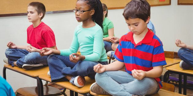 In our fast-paced world, children might just need it the