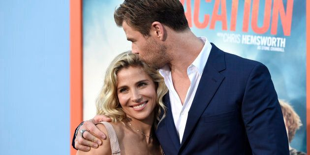 Elsa Pataky, left, and Chris Hemsworth are still very much in