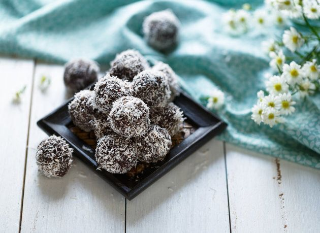 Making your own energy balls means you're in control of how much sugar goes