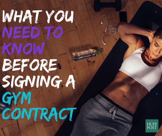 Things To Look Out For When Signing A Gym