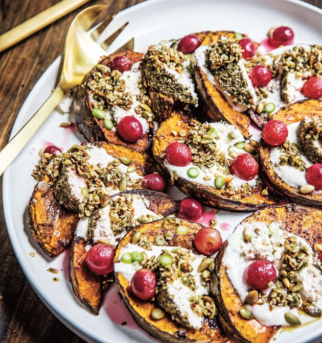 This veggie dish takes roasted pumpkin to a whole other