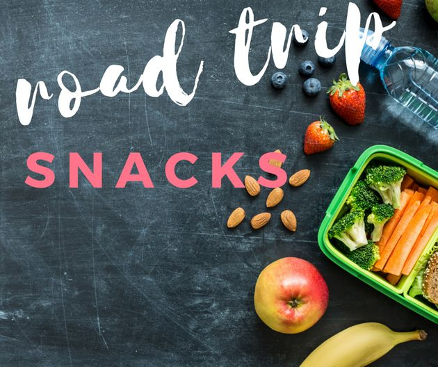 Road Trip With The Kids This Weekend? Pack These Easy, Healthy