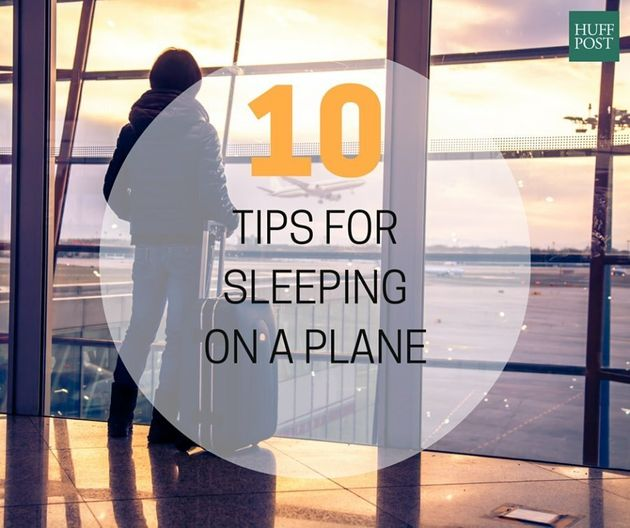 Falling Asleep On A Plane: Expert Reveals The Tips And