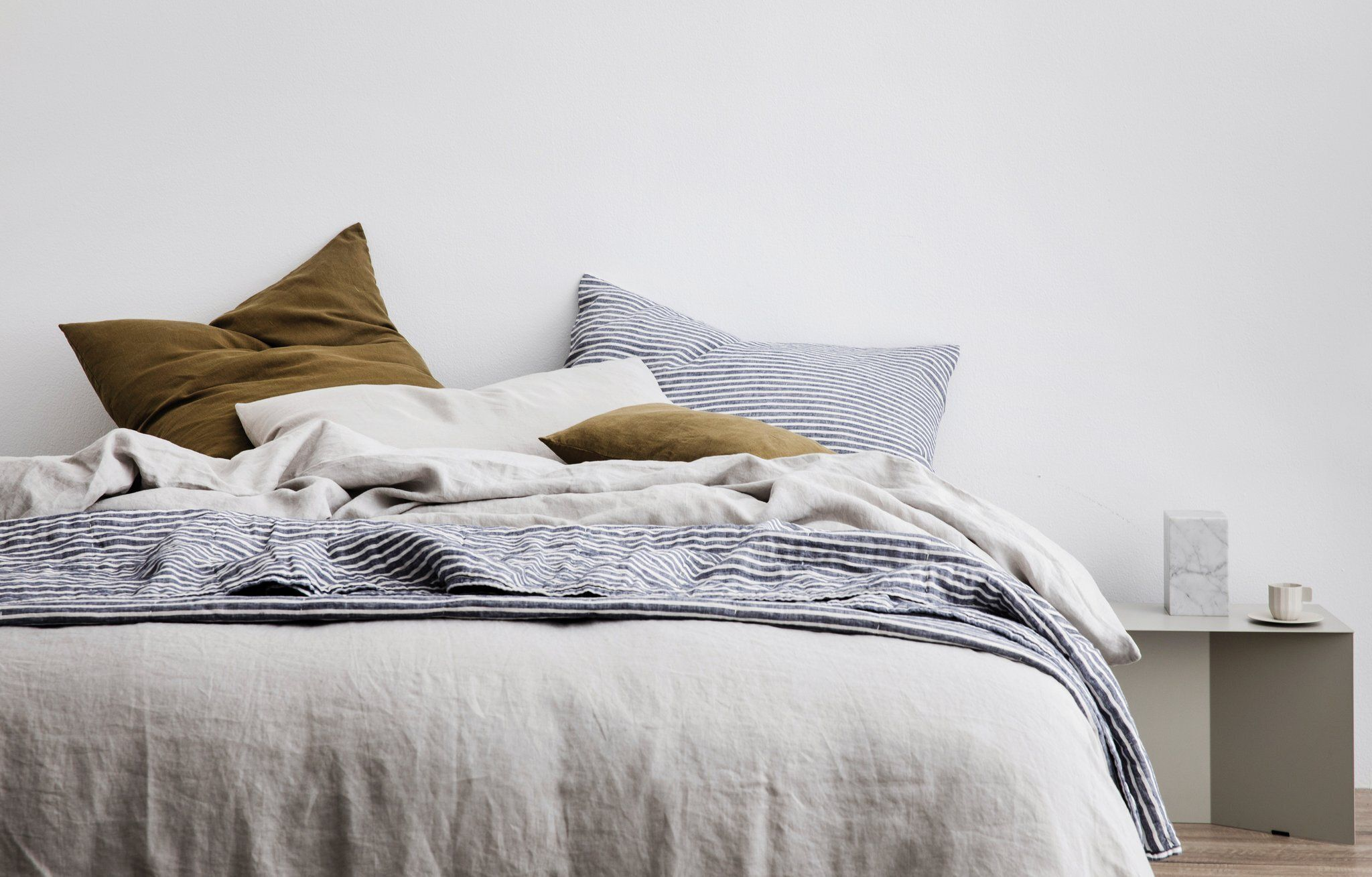 Laid Back Bed Linen Ideas To Inspire A Bedroom Makeover Huffpost Australia Style