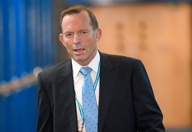 Australia's former Prime Minister Tony Abbott alleges he was assaulted by a man wearing a 'yes' campaign...