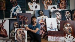 Bali Nine Ringleader-Turned-Artist's Work Turns A Mirror On Himself In First