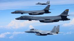 U.S. Bombers, Fighters, Stage Show Of Force Off North Korean