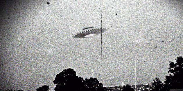 Photograph of the supposed Westall UFO encounter where more than 200 students and teachers at two Victorian...