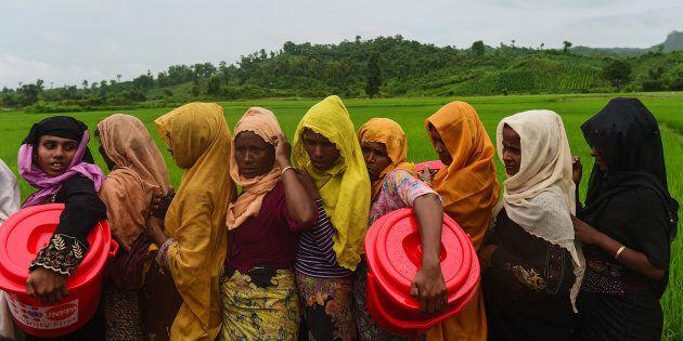 Rohingya Subjected To Rape En Masse In Myanmar's 'Cleansing'