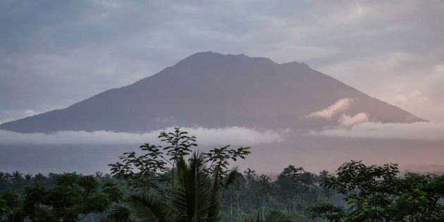 Mount Agung volcano last erupted in the 1960s, killing more than 1000