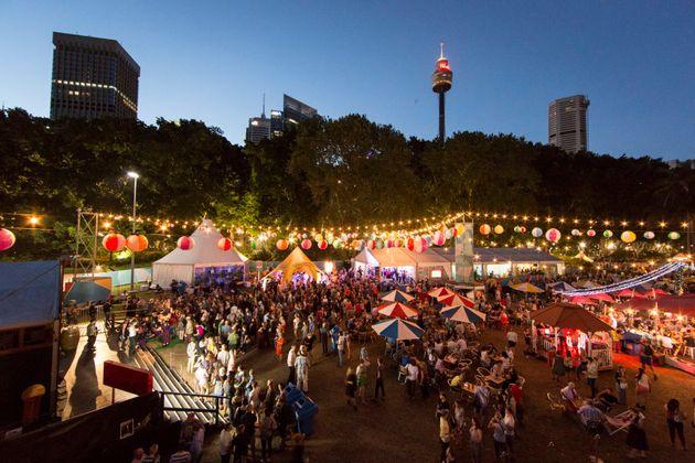 Sydney Festival Village in
