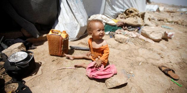 3.2 million people have been displaced by armed conflict in Yemen