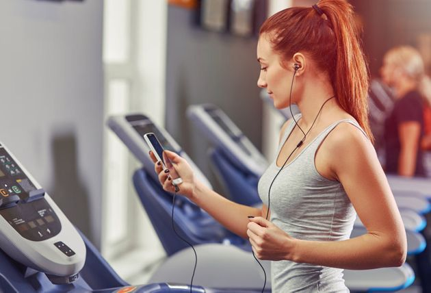 Loud, distracting music while working out could be adding extra stress to an already overstimulated nervous
