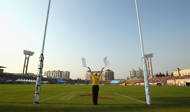 This pic is from an unofficial AFL match at Jiangwan in 2010. At least the food will be better than Four...